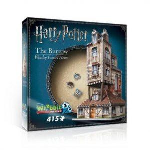 Wrebbit 3D Puzzle The Burrow Weasley Home 415 pcs.