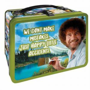Bob Ross - Happy Accidents Tin Tote