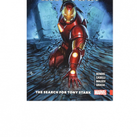 Invincible Iron Man: The Search for Tony Stark Pap