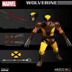 1:12 Scale Wolverine Mezco Collective Figure