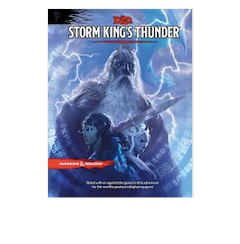 Dungeons & Dragons Storm Kings Thunder Module