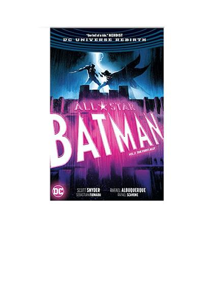 DC Universe Rebirth All Star Batman V3 The First A