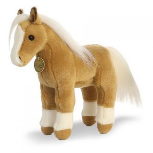 """Aurora - Miyoni - 11"""" Palomino Horse"""