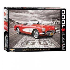 1000 pcs. 1959 Corvette