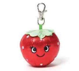 GUND Sparkle Snacks Clip - Strawberry