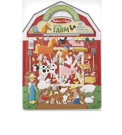 Puffy Sticker Play Set Farm